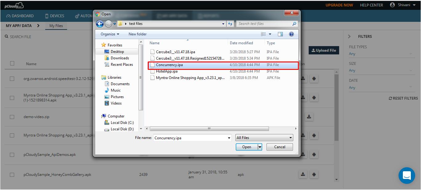 open apk files on ios