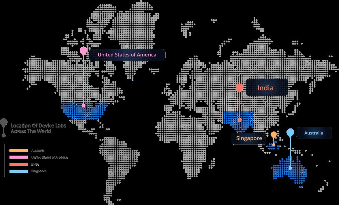 Device Lab Map
