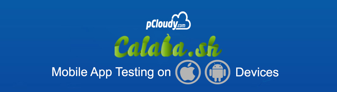 Calabash With pCloudy.com