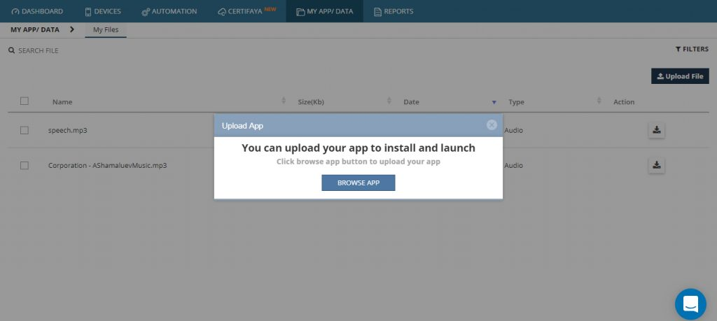 Browse App