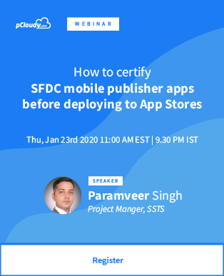 How to certify SFDC mobile publisher apps before deploying to App Stores