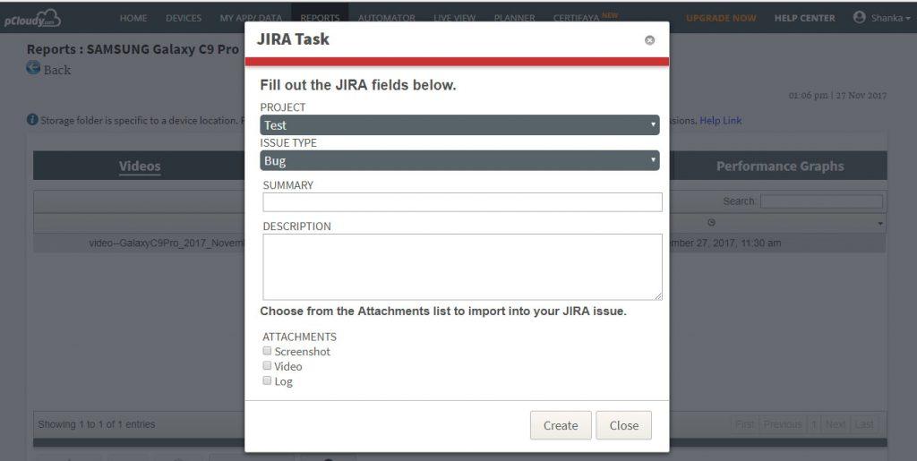 JIRA Task