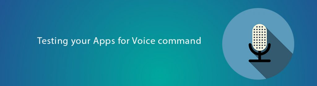 Testing your apps for voice commands