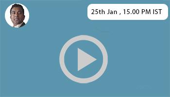 upcoming webinar on 25th Jan