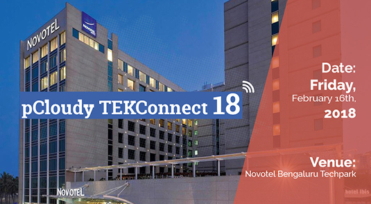 pCloudy TEKConnect 18 - Event