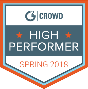 G2crowd high performer