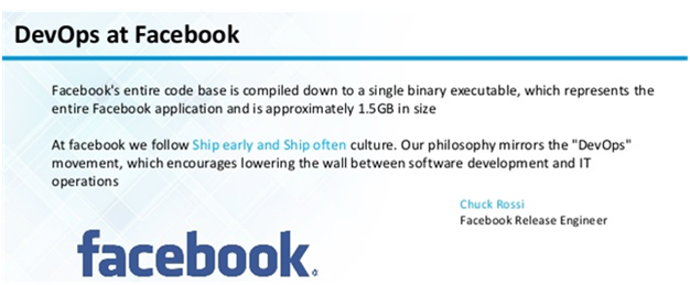 DevOps at Facebook