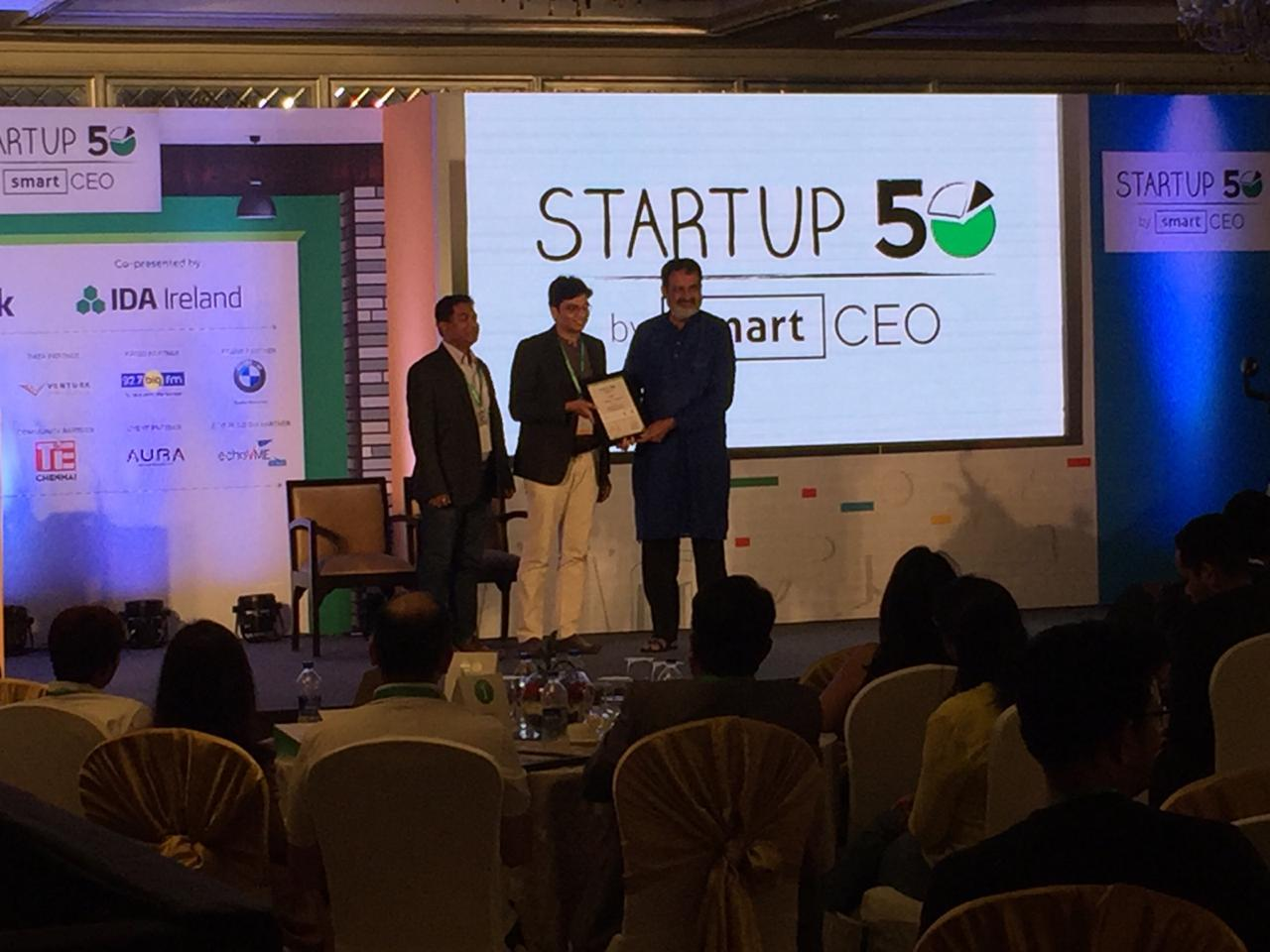 The Smart CEO Startup50