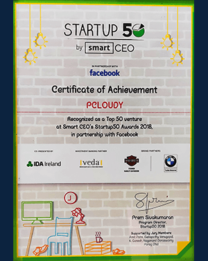 Startup 50 by smart ceo