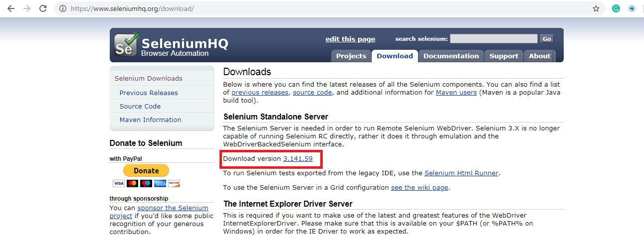 Test Automation SeleniumHQ