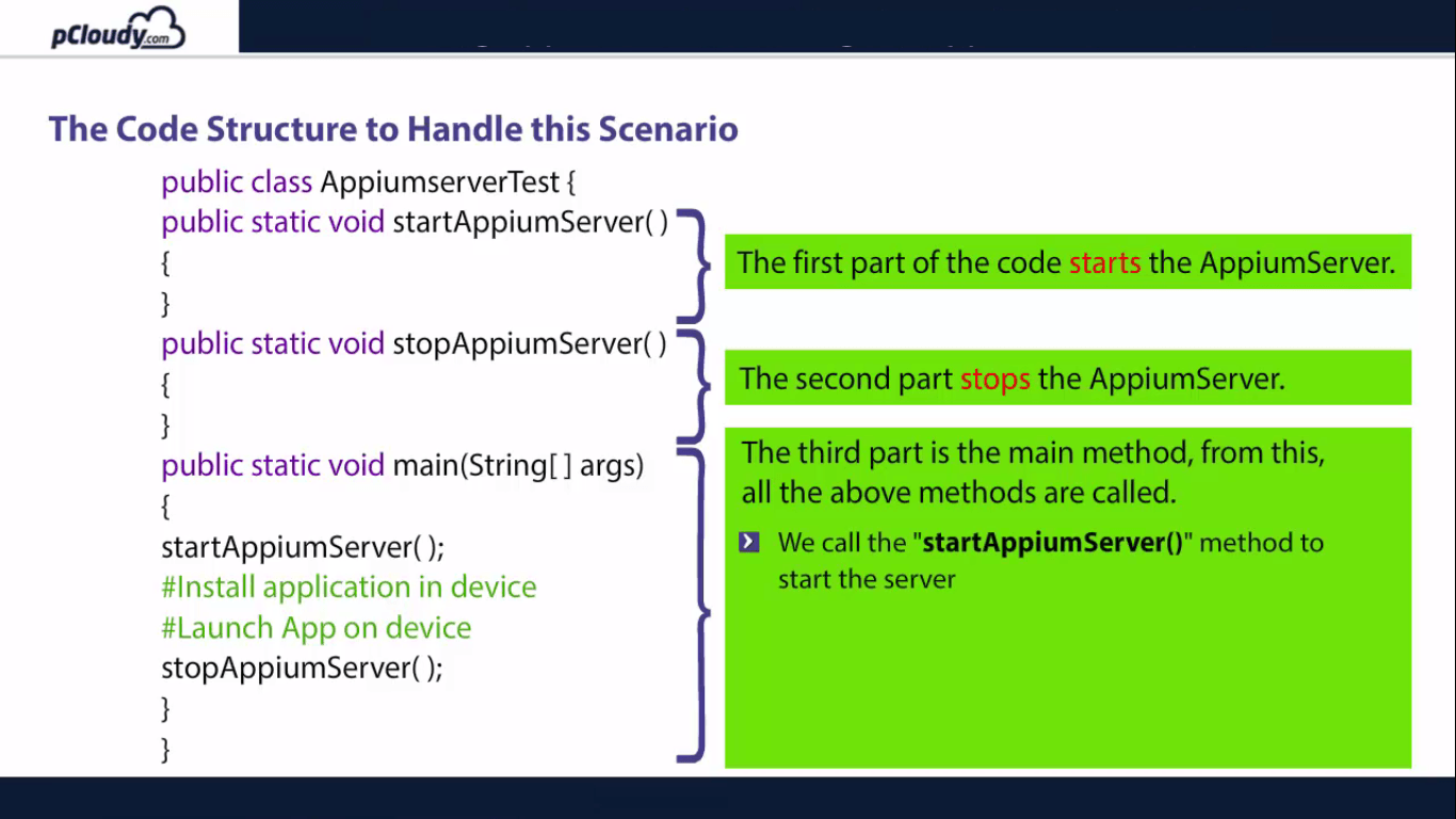 The Code Structure
