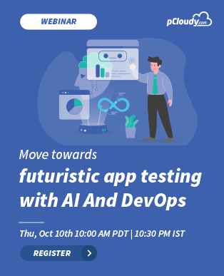 Move towards futuristic app testing with AI And DevOps