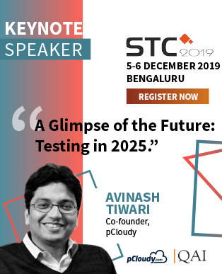 Keynote Speaker for STC 2019