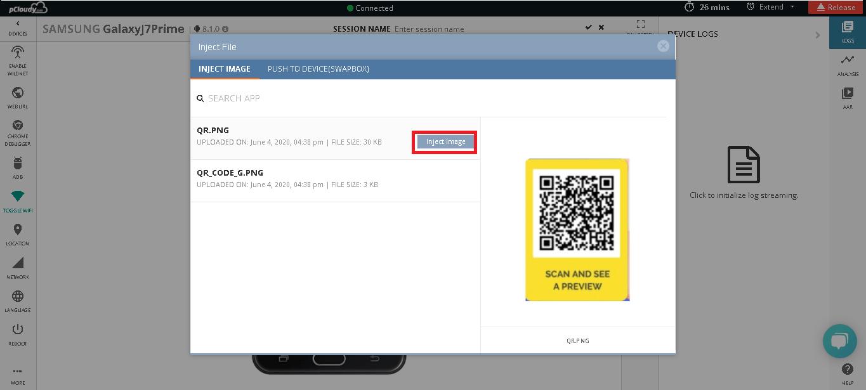 Test QR Code