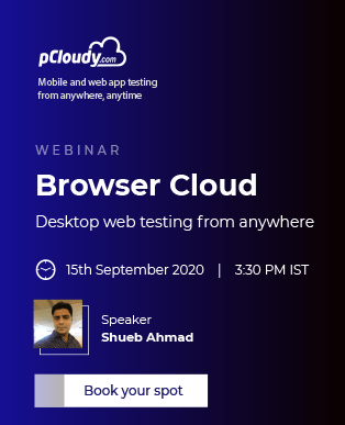 Browser Cloud Webinar