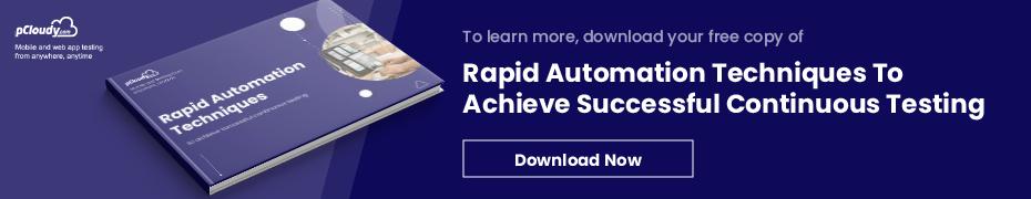 Rapid Test Automation