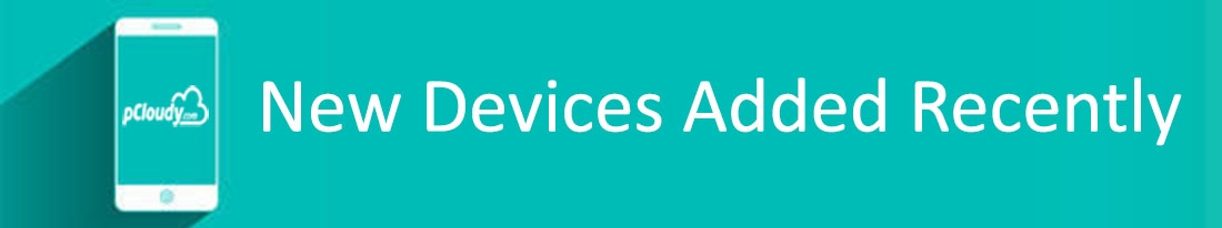 New Devices Added Recently On Our Platform