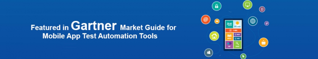"""Representative Mobile App Functional Test Automation Vendors (Commercial)"" in Gartner's Market Guide for Mobile App Test Automation Tools"