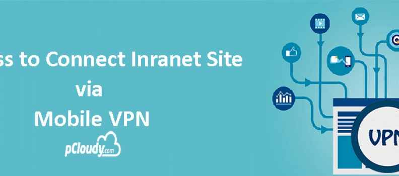 Process to connect Intranet site via Mobile VPN