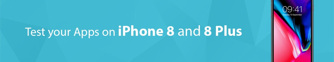 We are committed to keep you ahead of others: pCloudy has added iPhone 8 and 8 Plus Devices