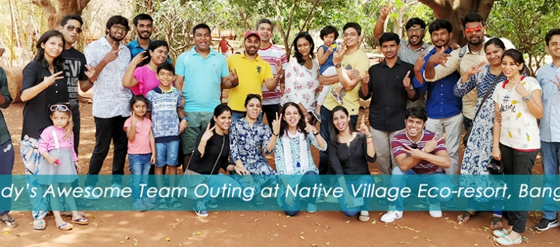 pCloudy's Awesome Team Outing at Native Village Eco-resort, Bangalore